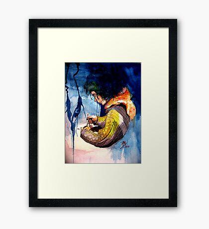 Loraine, Captif Amoureux. (Part 3 of 3) Final Framed Print