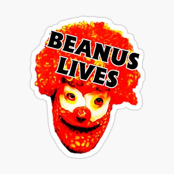 Beanus Lives Sticker