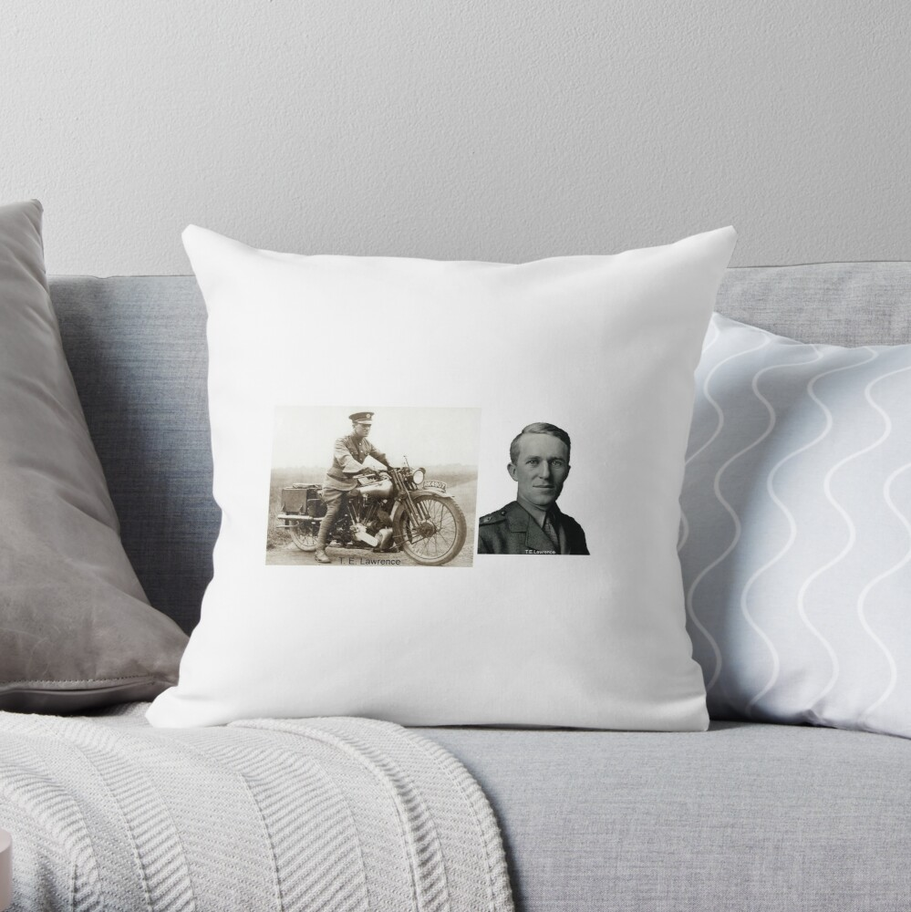 T.E.Lawrence - (Lawrence of Arabia) Throw Pillow