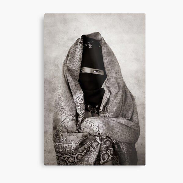 Young woman Yemenite Metal Print