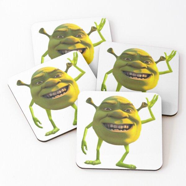 Shrek wazowski Coasters (Set of 4)