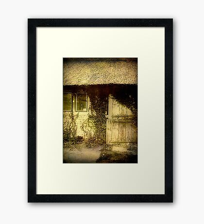 To grandmother's house we go!!! ©  Framed Print