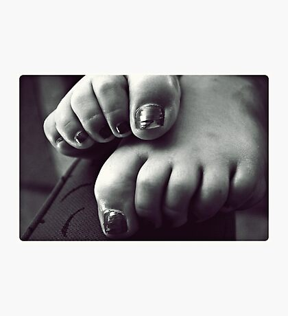 turned heads, curled toes. Photographic Print