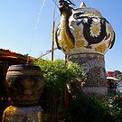 Dragon Teapot Fountain by yeuxdechat