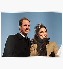 Prince William and Kate Middleton Poster