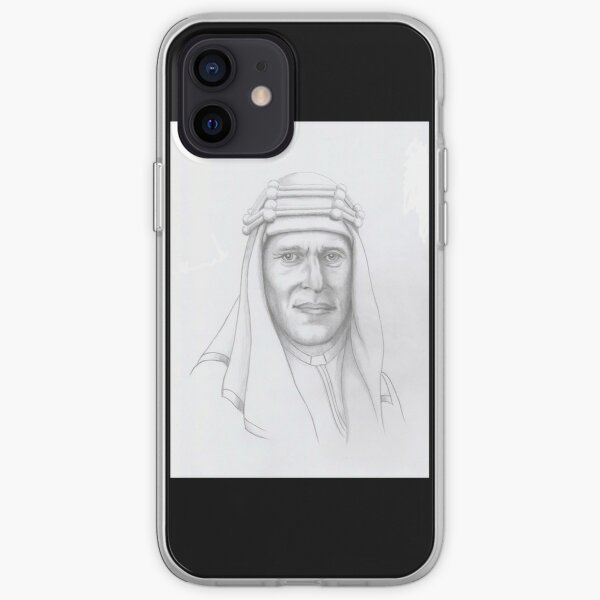 T.E.Lawrence (Lawrence of Arabia) in arab dress iPhone Soft Case