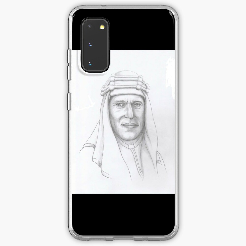 T.E.Lawrence (Lawrence of Arabia) in arab dress Case & Skin for Samsung Galaxy