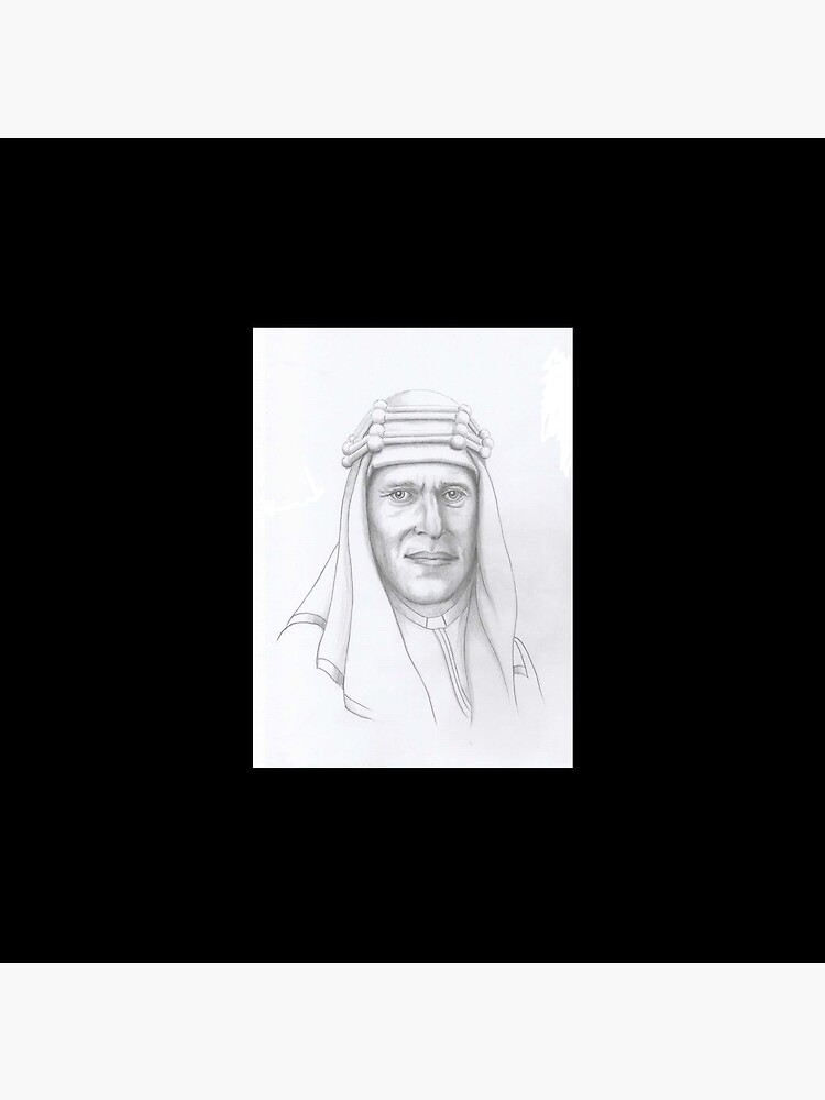 T.E.Lawrence (Lawrence of Arabia) in arab dress by dplrjl