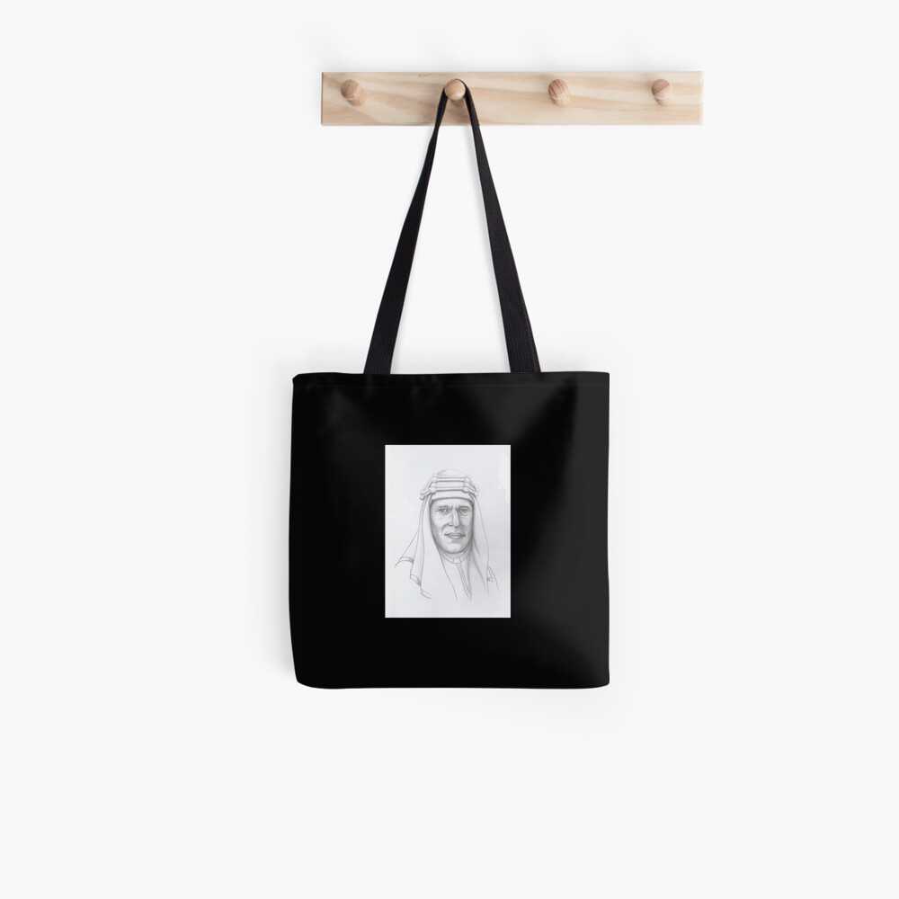 T.E.Lawrence (Lawrence of Arabia) in arab dress Tote Bag