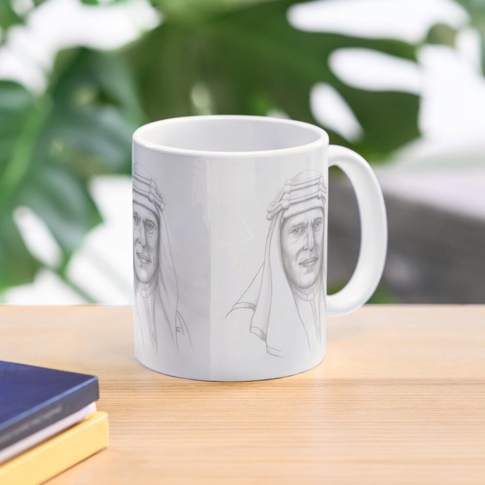 T.E.Lawrence (Lawrence of Arabia) in arab dress Mug