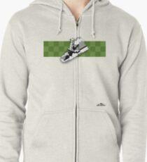 8-bit trainer shoe 1 T-shirt Zipped Hoodie