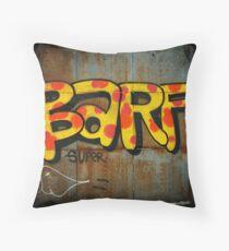 BARF Throw Pillow