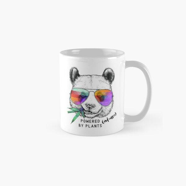 Powered by Plants (and coffee!) Panda  Classic Mug
