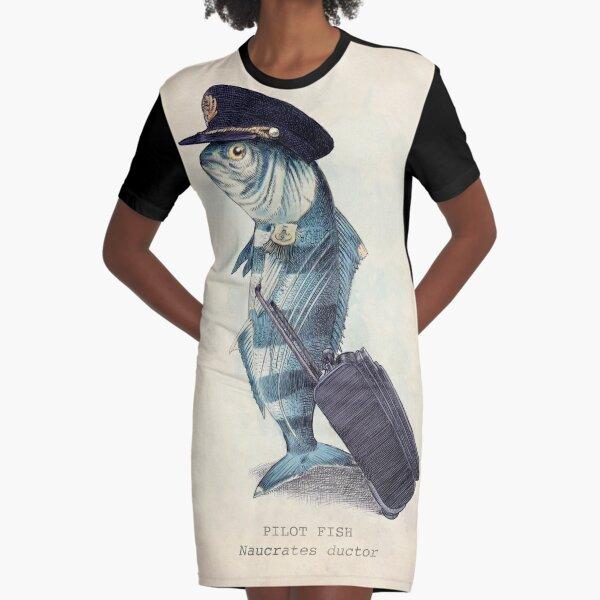 The Pilot Graphic T-Shirt Dress