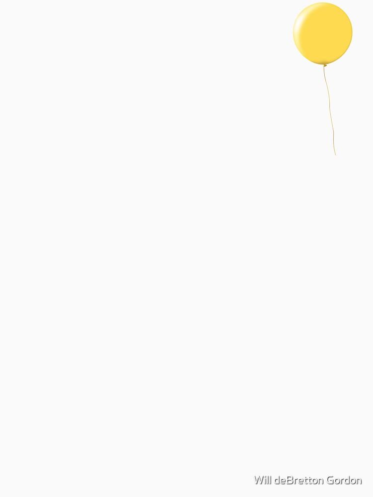 Yellow Balloon by PostArt