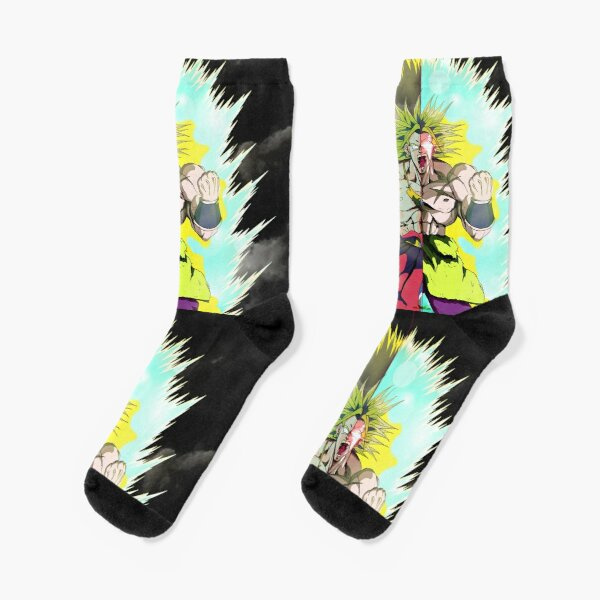 Dragon Ball Broly Super Hommage Chaussettes