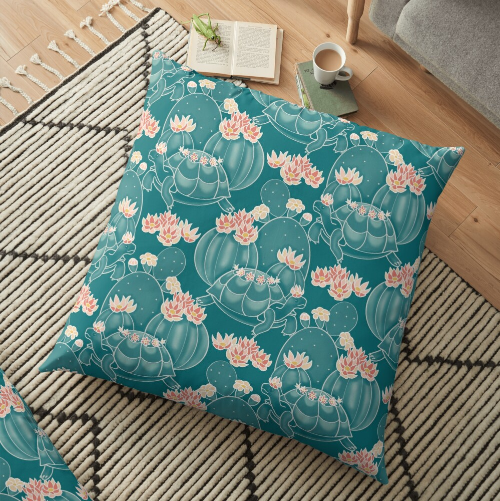 Find a tortoise  Floor Pillow
