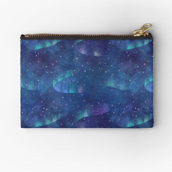 Aurora borealis Zipper Pouch