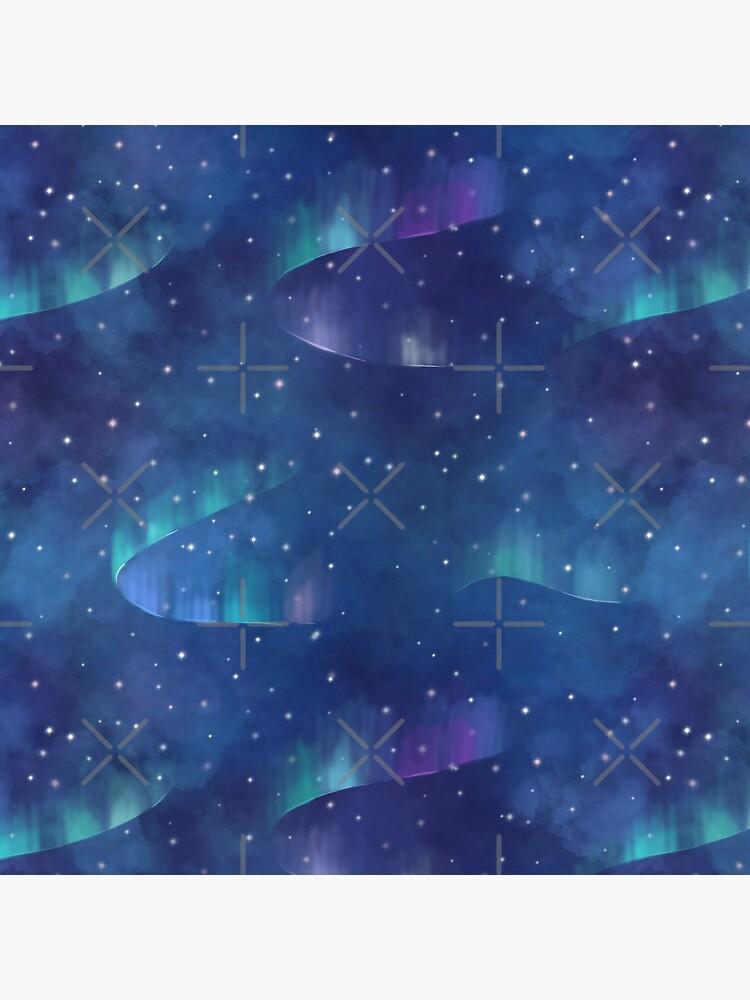 Aurora borealis by Elenanaylor