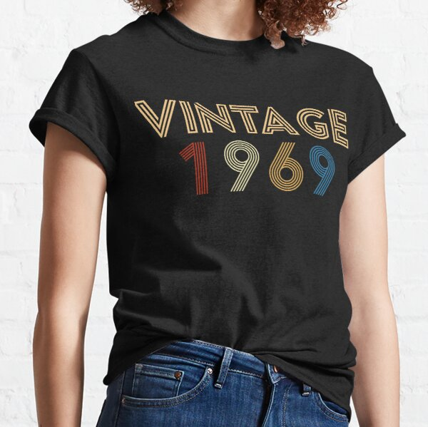 Vintage 1969 - 50th Birthday Gift For Men Classic T-Shirt