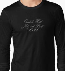The Shining | Overlook Hotel, July 4th Ball, 1921 Long Sleeve T-Shirt