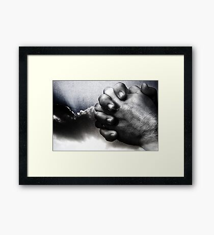 I Come To You, You Come To Me Framed Print