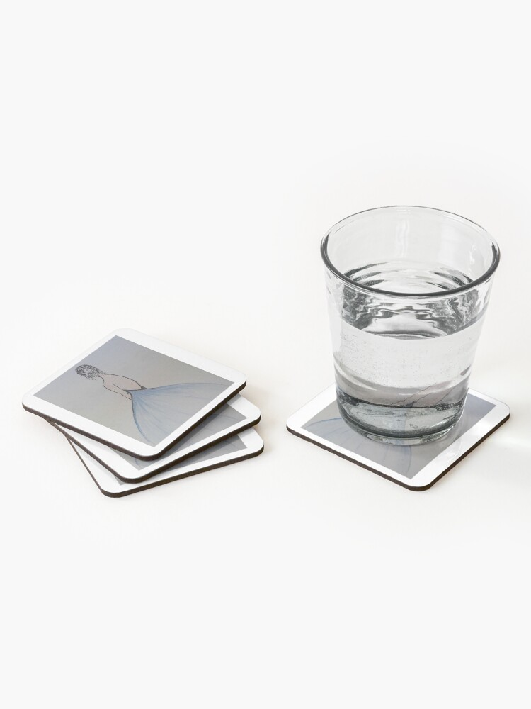 Alternate view of Female model Coasters (Set of 4)
