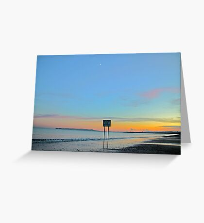 Time between times Greeting Card