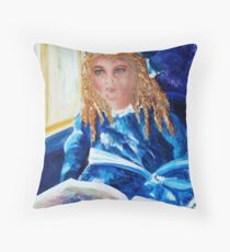 The Gift of Imagination Throw Pillow