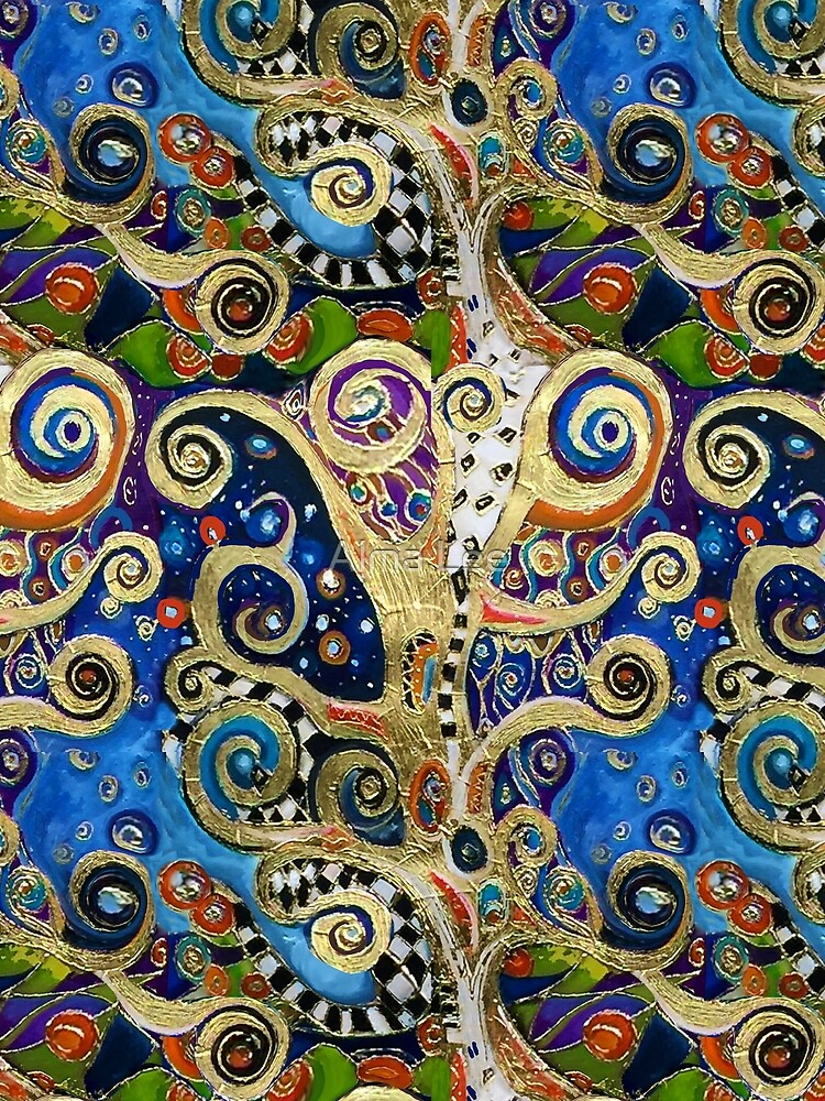 The Changing Seasons of Klimt by almalee