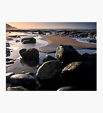 Sunset over Westward Ho Photographic Print
