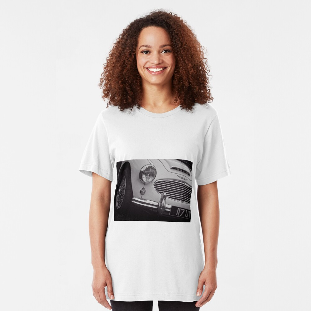 Austin Healey Classic Sports Car Front Slim Fit T-Shirt