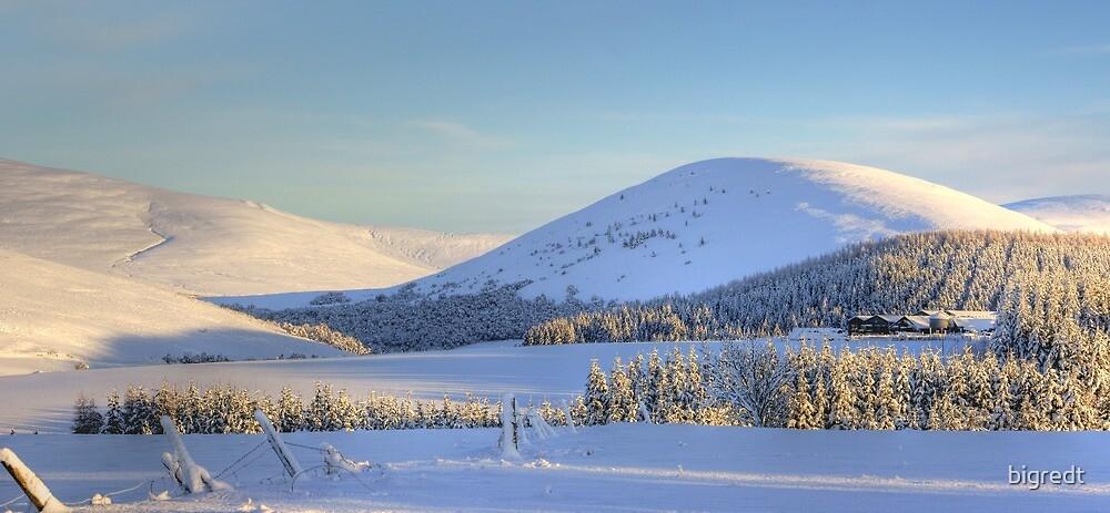Winter Scene - Scottish Highlands by bigredt