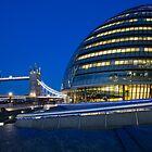 London City Hall 4 by John Velocci