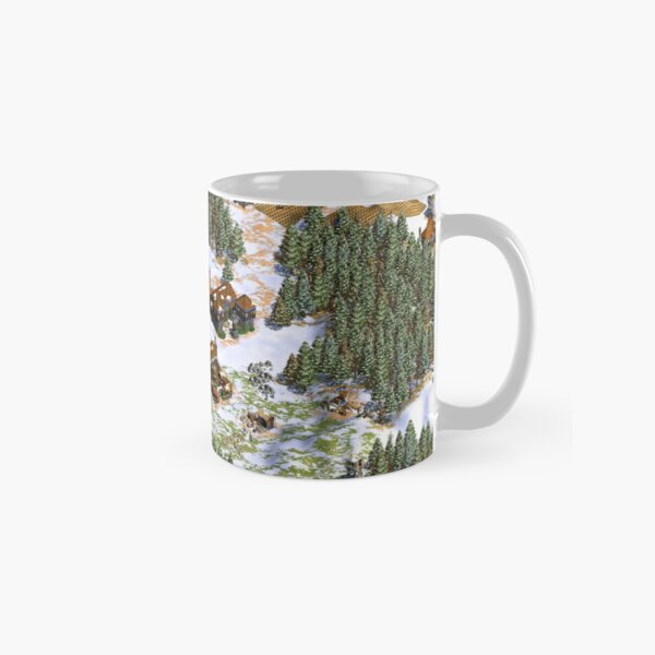 Age of Empires snowy landscape Cup Classic Mug