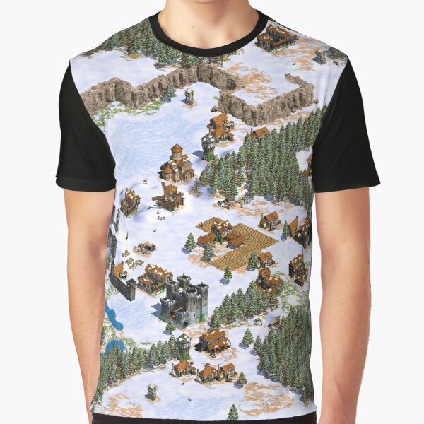 Age of Empires snowy landscape Graphic T-Shirt