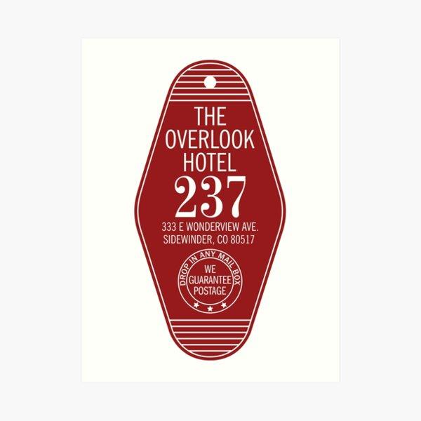 The Overlook Hotel Key Art Print