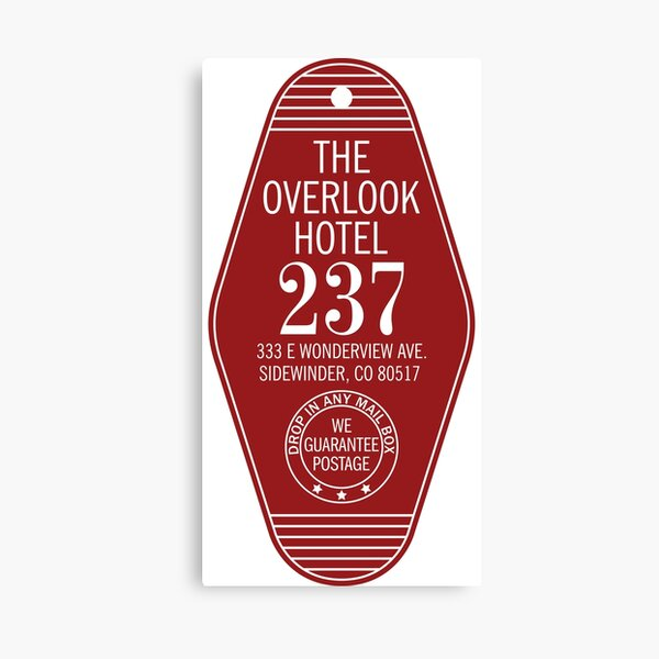 The Overlook Hotel Key Canvas Print