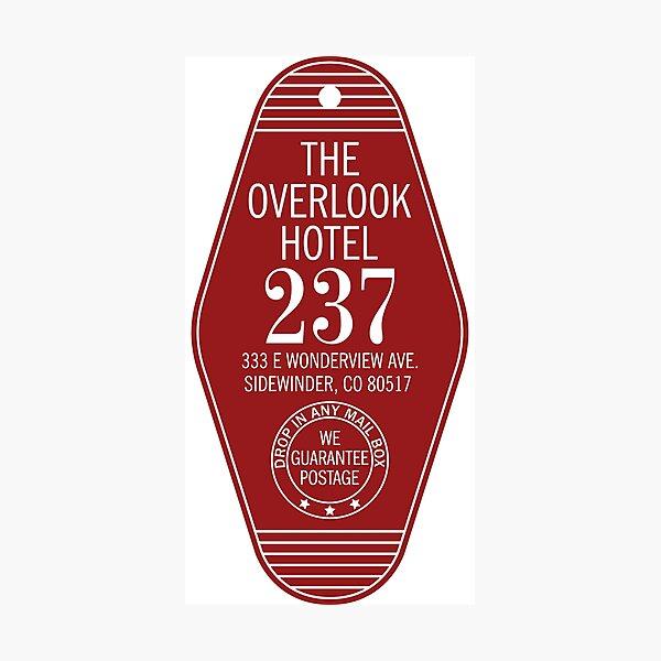The Overlook Hotel Key Photographic Print