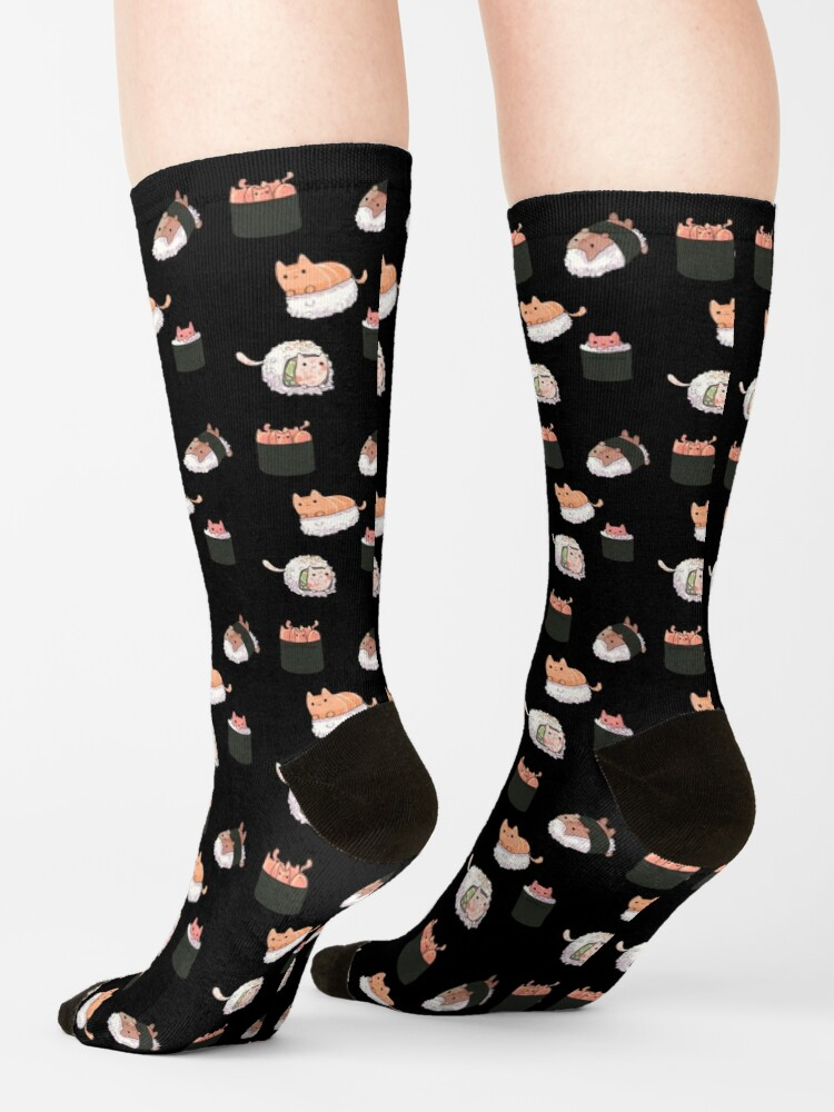 Alternate view of Sushi Cats Socks