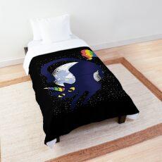 Caticorn cat unicorn graphic   Comforter