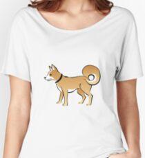 Cartoon Dog Women's Relaxed Fit T-Shirt