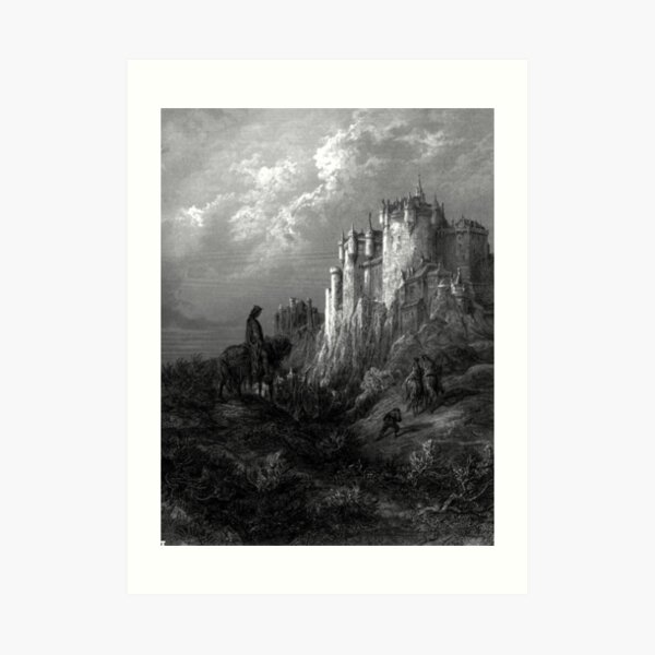 Camelot - Idylls of the King - Gustave Dore Art Print