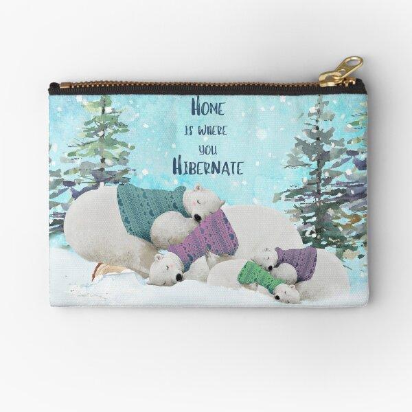Polar Bears Zipper Pouch