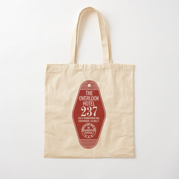 The Overlook Hotel Key Cotton Tote Bag