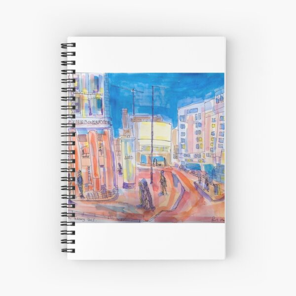 The Cornerhouse, Manchester Spiral Notebook
