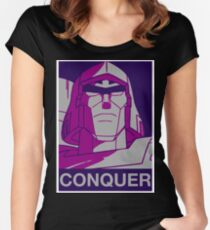 Megatron - Conquer Women's Fitted Scoop T-Shirt