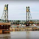 Portsmouth Memorial Bridge by Diana Nault