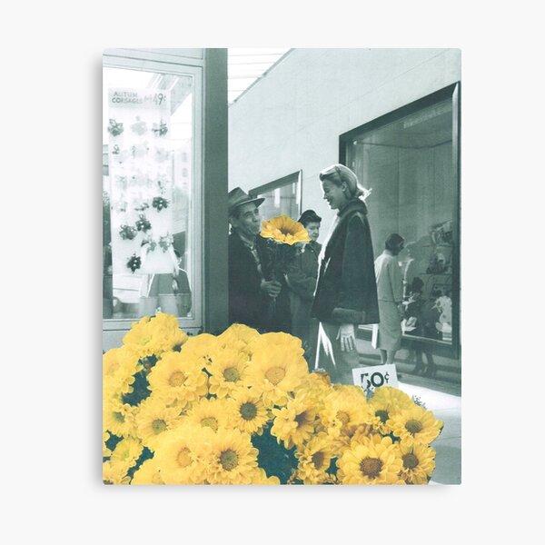 Yellow daze Canvas Print
