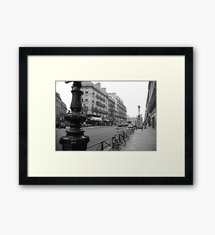 cityscapes #139, avenue Framed Print